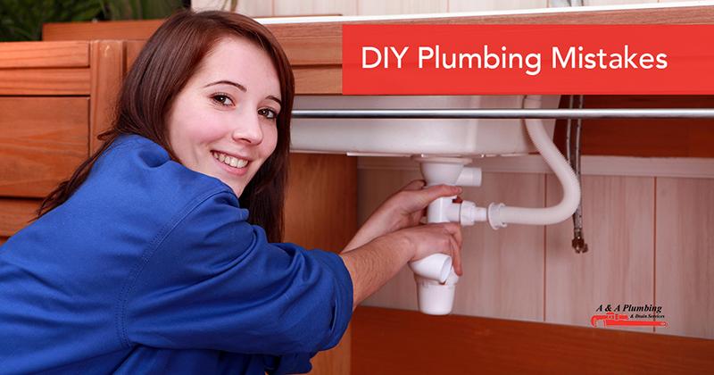 DIY Plumbing Mistakes