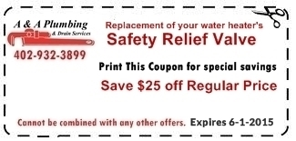 Safety Relief Valve Coupon